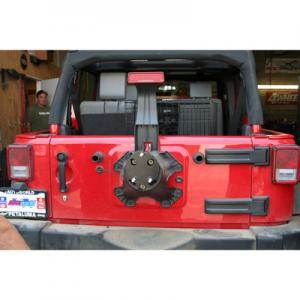 Synergy Jeep JK Spare Tire Relocation Bracket (4012)