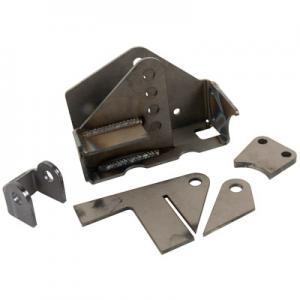 Synergy Jeep JK HD Weld-On Front Track Bar Bracket, 2.5 Axle Tube (8012-13)