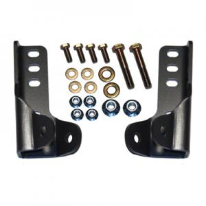 Synergy Jeep JK Front & Rear Lower Shock Relocation Kit (8019)
