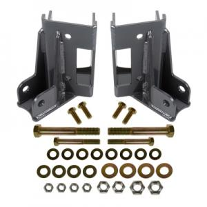 Synergy Jeep JK Rear Lower Control Arm Skids with Integrated Shock Mounts (8078)