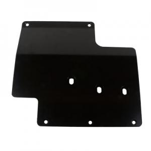 Synergy Jeep JK Standard Skid Plate: Transmission (5710-10-BK)