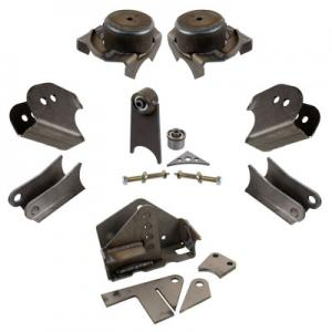 Synergy Jeep JK HD Front Axle Bracket Kit (JK-HD-ABK)