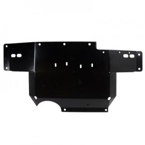 Synergy Jeep JK Heavy Duty Transmission Skid Plate (5710-01-BK)