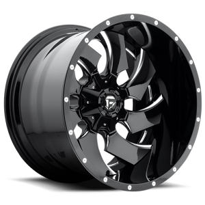 Fuel Wheels D239 Cleaver Black milled (D239)