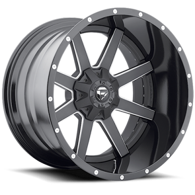 Fuel Wheels D262 Maverick Black Milled (D262)