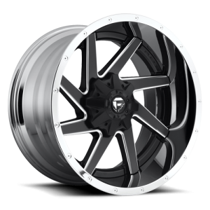 Fuel Wheels D264 Renegade Black Milled (D264)
