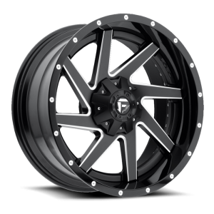 Fuel Wheels D265 Renegade Black Milled (D265)