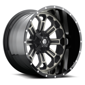 Fuel Wheels D268 Crush Black Mach DDT (D268)