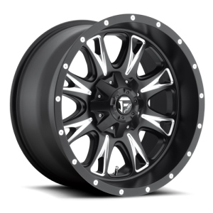 Fuel Wheels D513 Throttle Black Milled (D513)