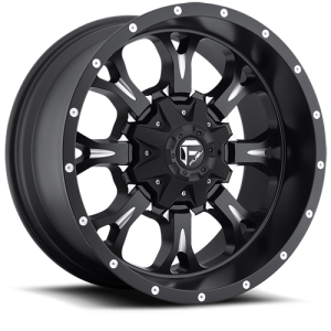 Fuel Wheels D517 Krank Black Milled (D517)